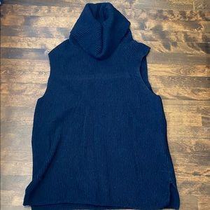 GAP women sleeveless cowl neck sweater